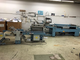 1990 MBO B26 continuous feed folder Folding machines