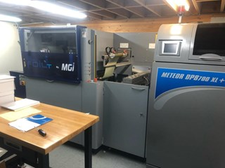 MGI Meteor DP8700XL+ Digital Printing