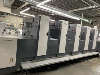 Shinohara 75V Sheet Fed