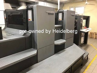 Heidelberg Speedmaster CD 102-LYX Offline Coater Coating Machines