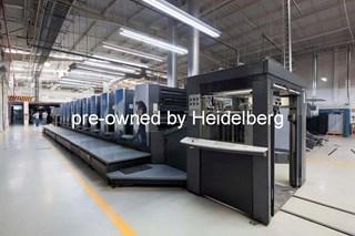 Heidelberg Speedmaster SM 102-10-P6 Offset de pliegos