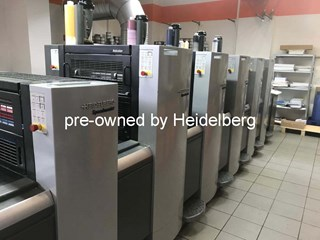 Heidelberg SM 52-5+LX Anicolor Sheet Fed