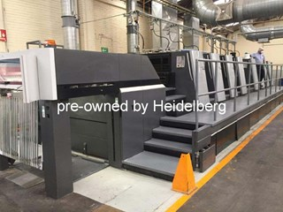 Heidelberg Speedmaster XL 105-8P Sheet Fed