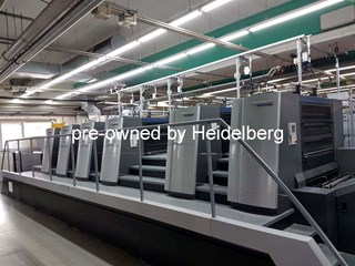 Heidelberg Speedmaster XL 106-5-P3+LX2 Sheet Fed