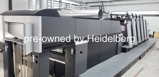 Heidelberg Speedmaster XL 75-5+LX (F) LE UV/ Hybrid Sheet Fed