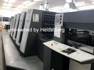 Heidelberg Speedmaster XL 75-4+L (F) Sheet Fed