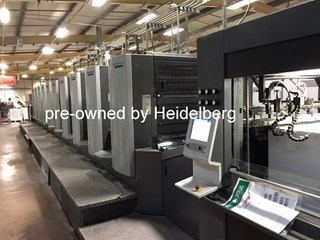 Heidelberg Speedmaster SX 102-10-P6 Sheet Fed