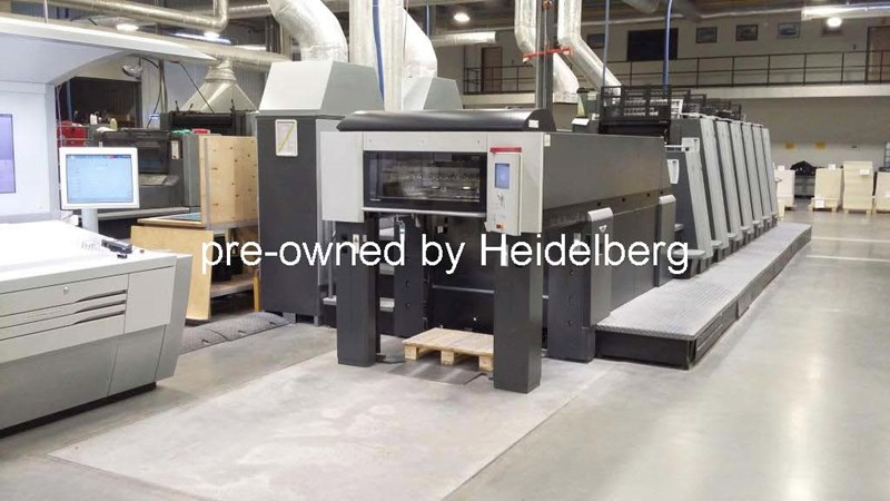 Show details for Heidelberg Speedmaster XL75-6+LX Anicolor (F Format)
