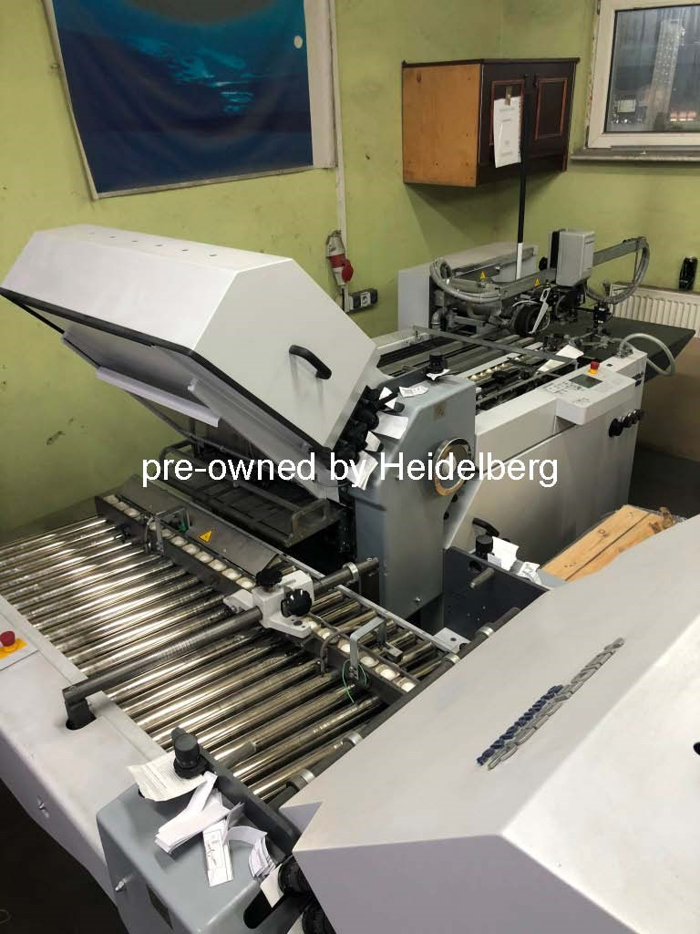 Show details for Heidelberg Stahlfolder Ti 52