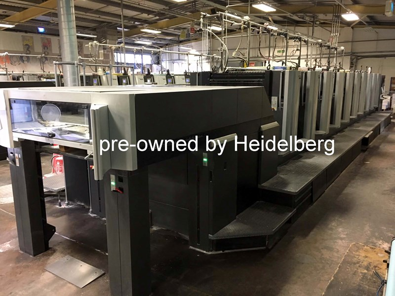 Heidelberg Speedmaster SX 102-10-P6