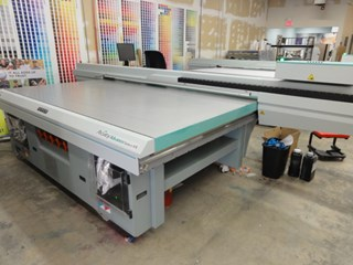 Fuji Acuity Advance Select HS flatbed UV printer  Flatbed