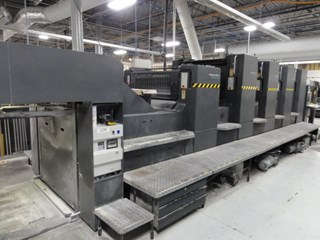 """Heidelberg SM102-4P3+L 4/C 40"""" perfector with coater Sheet Fed"""