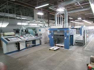 "KBA Rapida 105-6 ALV2 universal 6/c 40"" offset press  Machines offset à feuilles"
