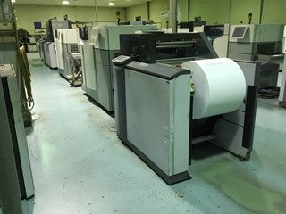 Hunkeler Popp4 and Oce 7650/ 6250 package, lots of spare parts Digital Printing