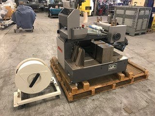 Horizon TST-37 crusher/stacker w/ plastic banding  Folding Machines