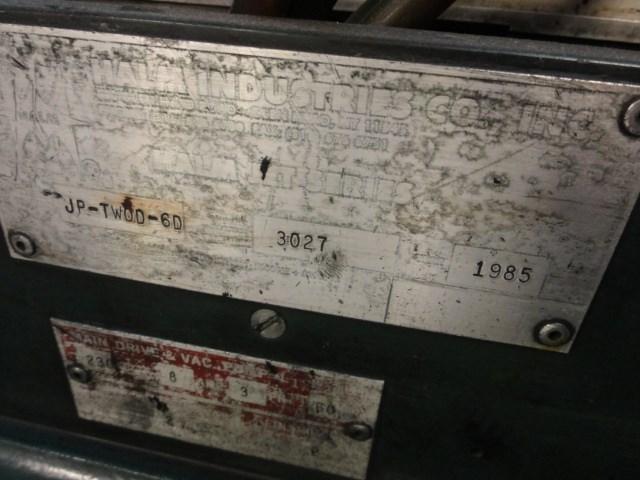 Halm Super Jet JP-TWOD-6D 2/c jet envelope printing press