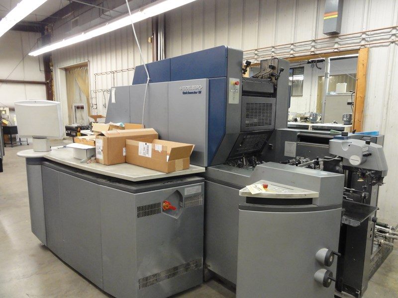 Heidelberg Quickmaster DI Pro 46-4 Press
