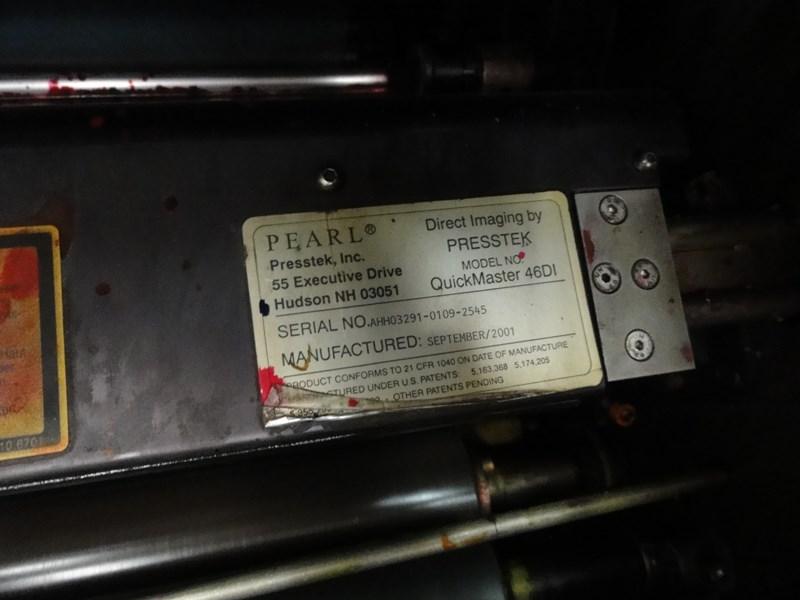 Heidelberg Quickmaster DI Pro 46-4 Press