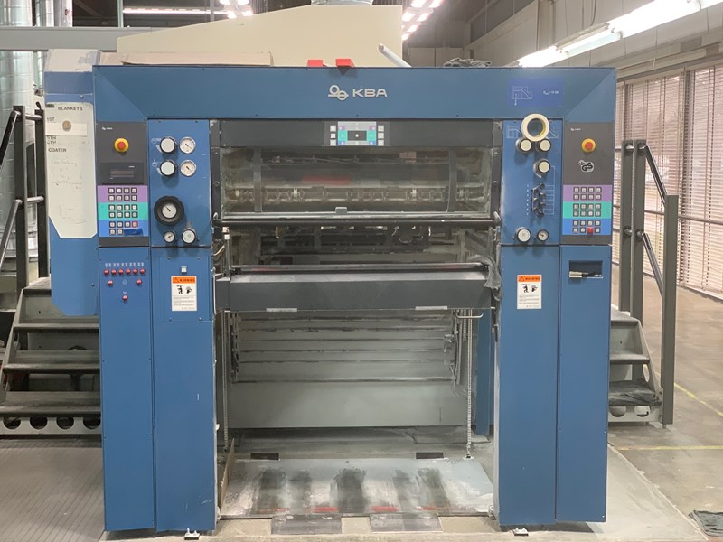 "KBA Rapida 105-6 ALV2 universal 6/c 40"" offset press"