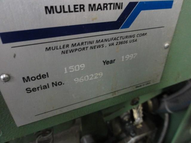 Muller Minuteman 1509 saddlestitching line