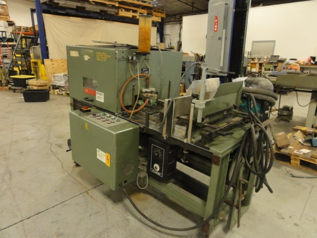 Show details for Muller Martini 3601 book splitting saw, includes manual