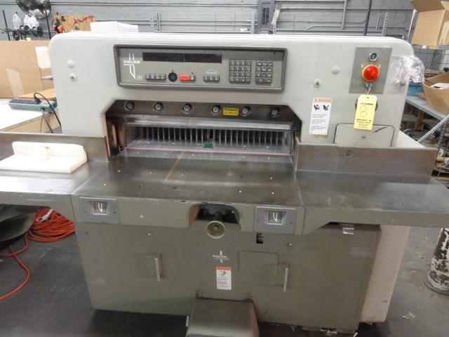 "Show details for Polar 76EM 30"" paper cutter"