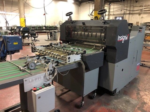 "Rollem Insignia  IS7DM 30"" rotary die cutter"