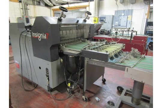 """Rollem Insignia  IS7DM 30"""" rotary die cutter"""