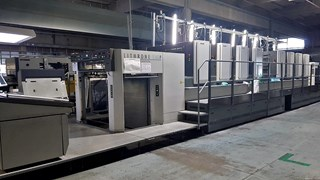 Komori Lithrone S 840 PH Sheet Fed