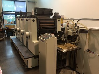 Komori Lithrone L420 Sheet Fed