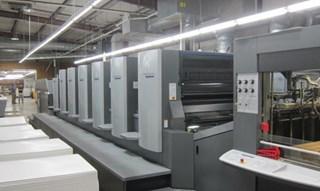Heidelberg CD102-6+LX 单张纸胶印机