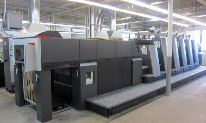 Show details for 2006 Heidelberg CD 74-5+LX-F with UV