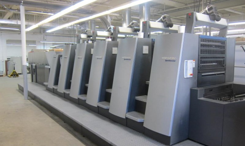 2006 Heidelberg CD 74-5+LX-F with UV
