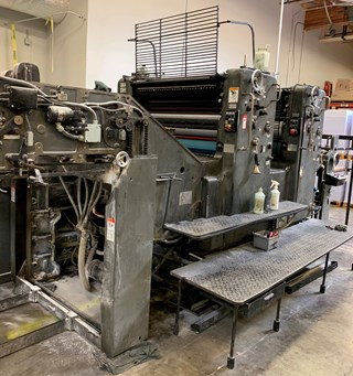 1975 Heidelberg SM 102-ZP Sheet Fed