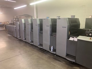 Heidelberg SM 52 5P3+L Sheet Fed