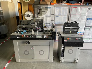 Kirk Rudy 535-CS Tabber Mail Room Equipment