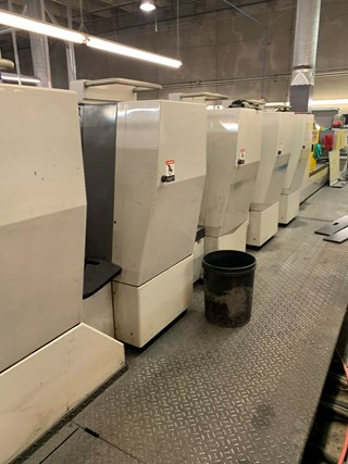 2004 Komori L528 + LX Plus Coater fully automated Sheet Fed