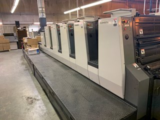2003 Komori L 528 +LX Plus Coater fully automated Sheet Fed