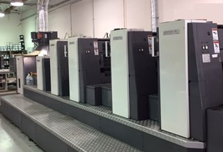 2005 Shinohara 75 IV HPC Sheet Fed