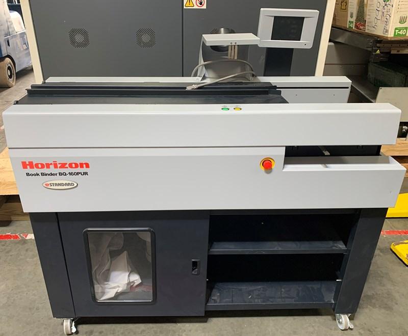 2019 Horizon BQ-160 PUR Perfect Binder