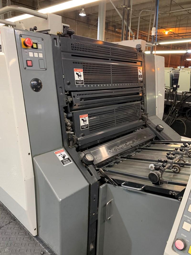 2004 Komori L528 + LX Plus Coater fully automated