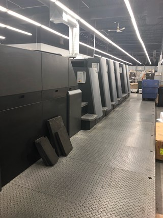 Heidelberg CD 74 5 P3+L Sheet Fed