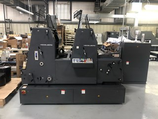 Heidelberg GTOZP 52 with Alcolor and dryer Machines offset à feuilles