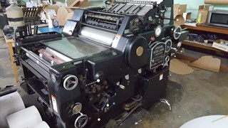 1960 Heidelberg KORD 64 Sheet Fed