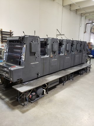 Heidelberg Mofp Sheet Fed