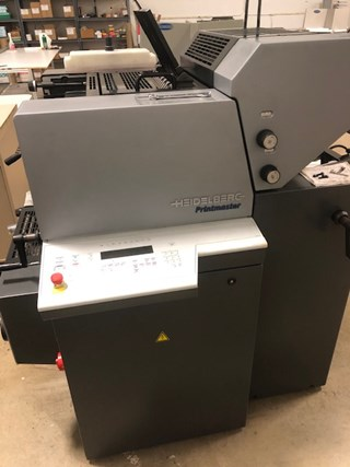 Heidelberg PM 46  2 color  Sheet Fed
