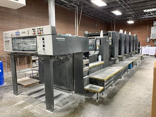 Heidelberg SM 102 6 P3+L Sheet Fed