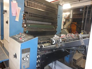 KBA RAPIDA 104 4+L  CX  with SAPC and roller coater, well maintained Sheet Fed