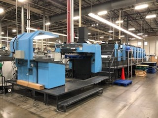 Komori L-840-III Plus Coater Machines offset à feuilles