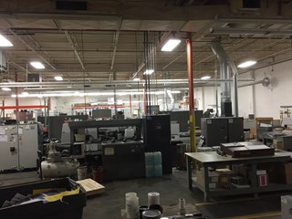 Komori Lithrone NL-28 5 color with coater Sheet Fed